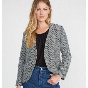 NWT Sally Herringbone Jacket